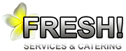 Fresh Services en Catering Mobile Logo